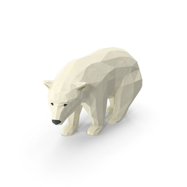 Thumbnail for Low Poly Polar Bear