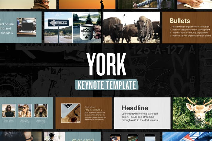 Thumbnail for York — Keynote Presentation Template