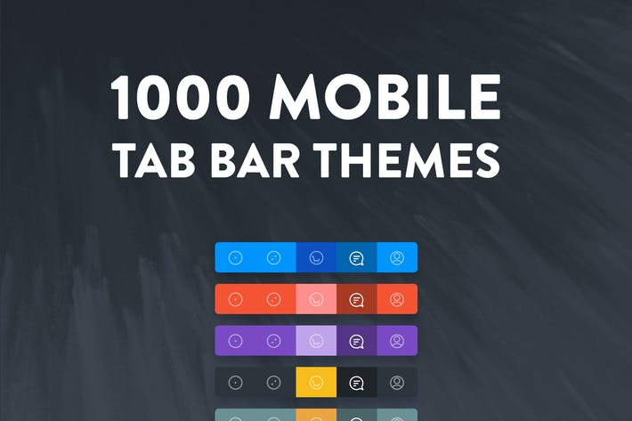 Thumbnail for 1000 Navigation Tab Bar Themes