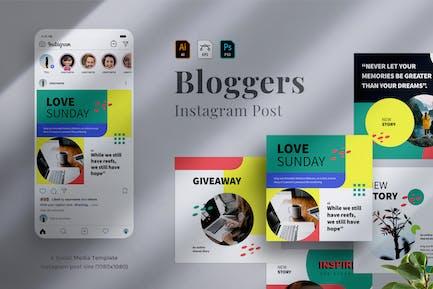 Bloggers Instagram post 03