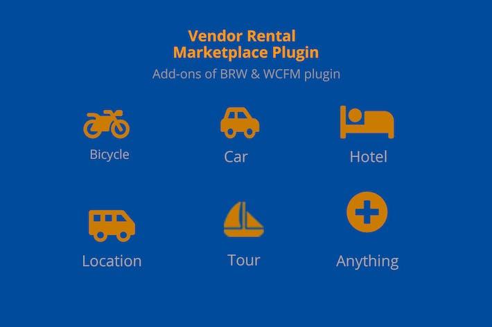 Multiple Vendor Rental Marketplace WP Plugin