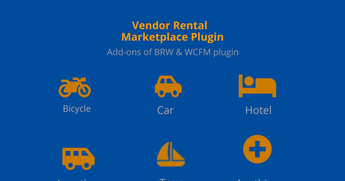 Download Multiple Vendor Rental Marketplace WP Plugin by ovatheme
