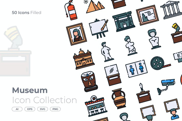 Thumbnail for Museum Filled Icon