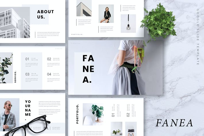 Thumbnail for FANEA - Creative Google Slides Template