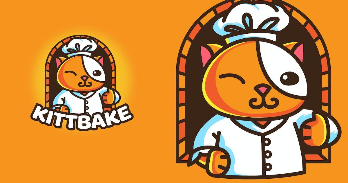 Download BAKERY CAT - Mascot & Esport Logo by aqrstudio