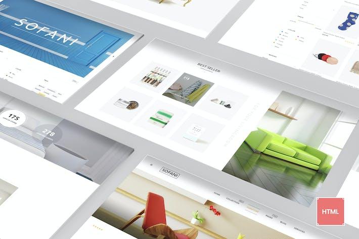 Thumbnail for Sofani - Furniture Store HTML Template