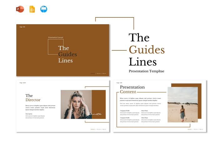 Thumbnail for Guides - Presentation Template