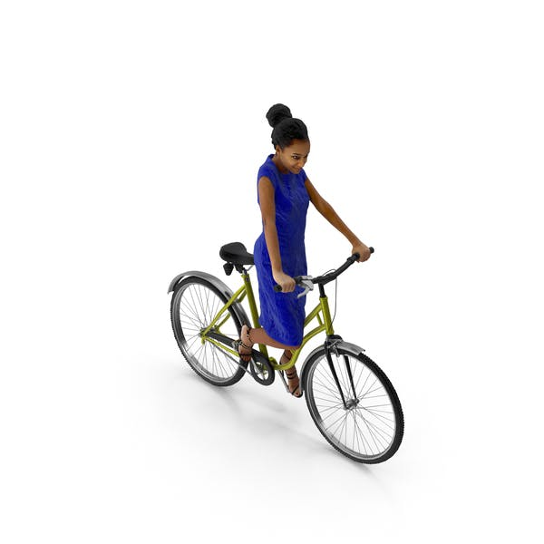 Thumbnail for Woman Riding Bike Macire