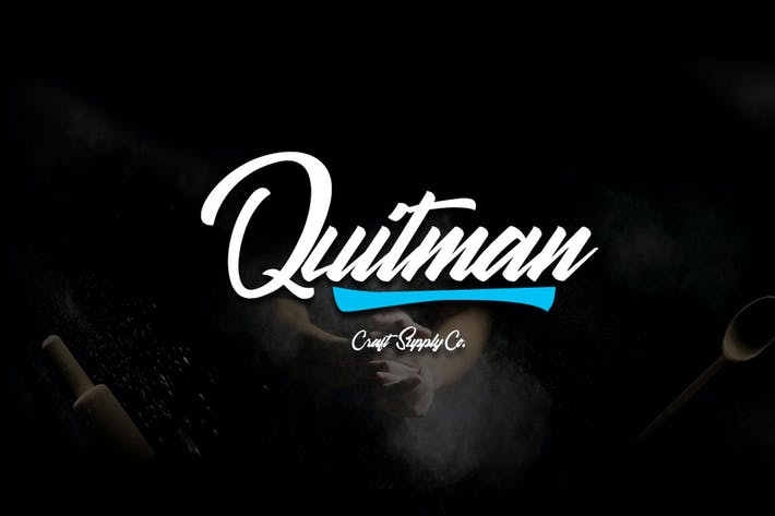Thumbnail for Quitman Script