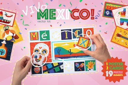 Mexico Poster Constructor