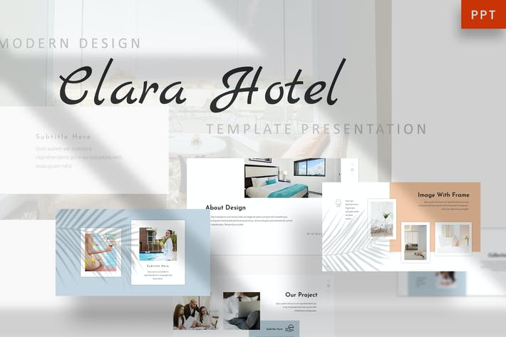 Thumbnail for Clara - Hotel Powerpoint Template