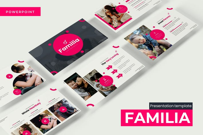 Cover Image For Familia - Powerpoint Template
