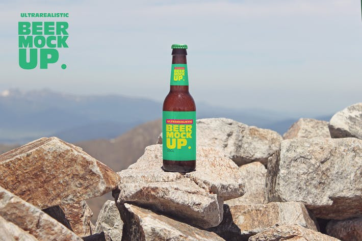 Thumbnail for Stone Mountain Beer Mockup