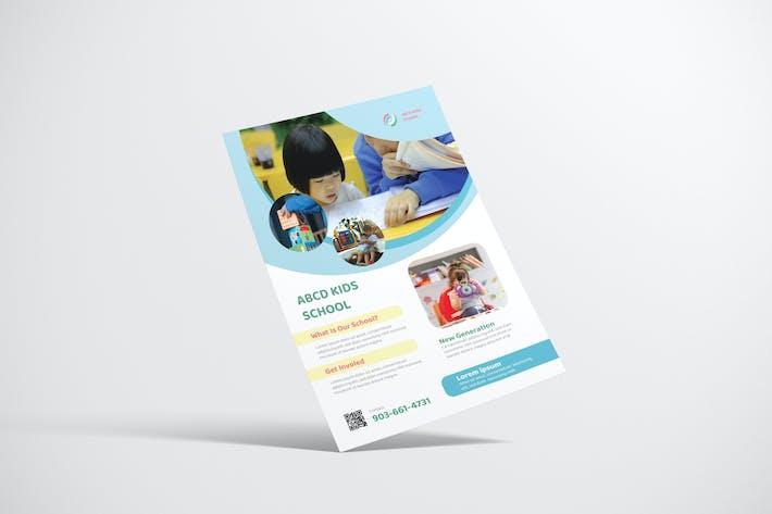 Thumbnail for Dépliant scolaire pour enfants