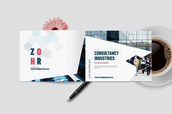 Cover Image For Bloom | Business Magazine Template