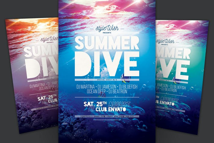 Thumbnail for Summer Dive Flyer