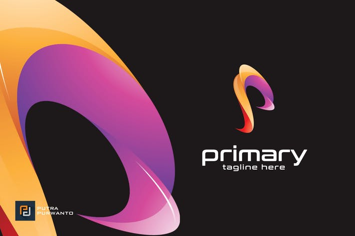 Thumbnail for Primary / P - Logo Template