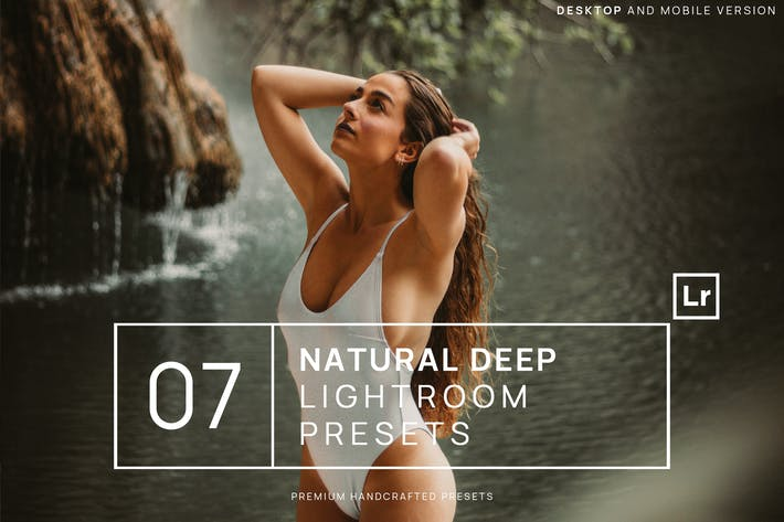 Thumbnail for 7 Natural Deep Lightroom Presets + Mobile