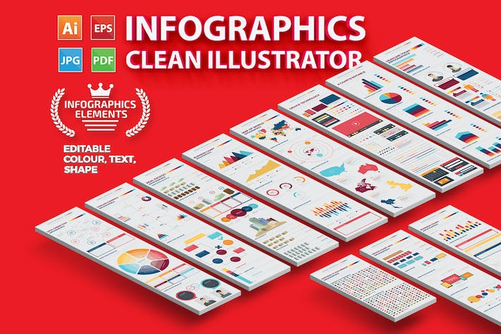 Thumbnail for Infographics Set