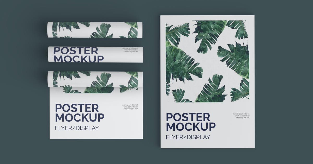 Download Poster/Flyer Mockup by IanMikraz