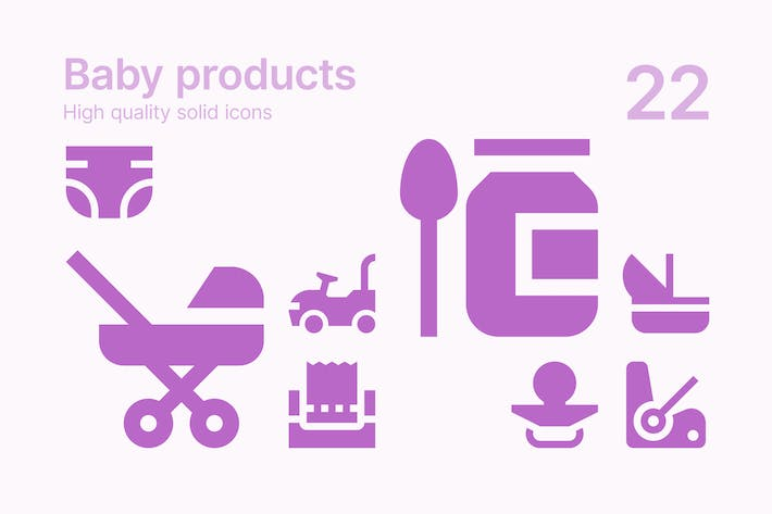 Thumbnail for Baby Products Icons