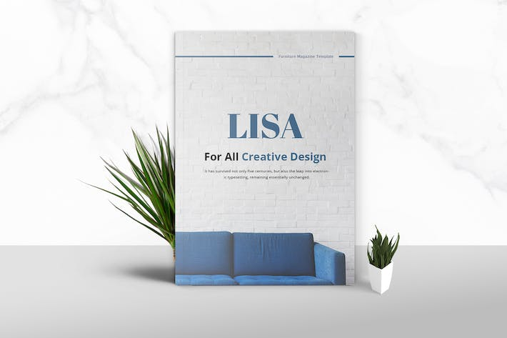 Thumbnail for Lisa - Furniture Magazine Template
