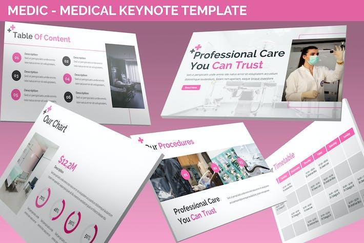 Thumbnail for Urban - Medic Keynote Template