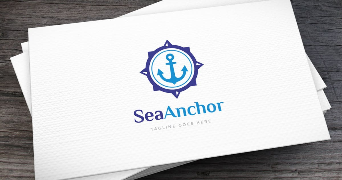Download Sea Anchor Logo Template by empativo