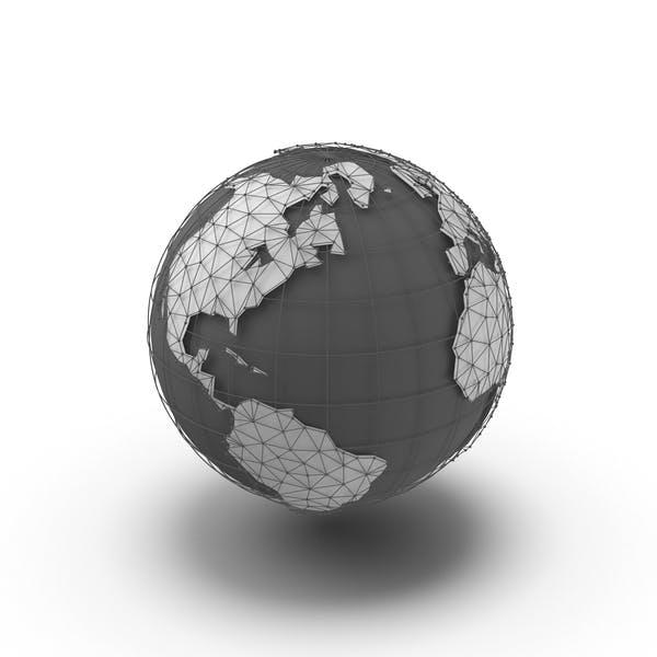 Глобус Континенты