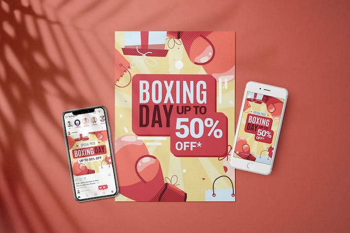 Thumbnail for Boxing Day Sale - Flyer Media Kit