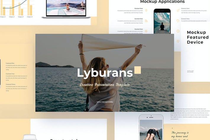 Thumbnail for Lyburan - Creative PowerPoint Presentation