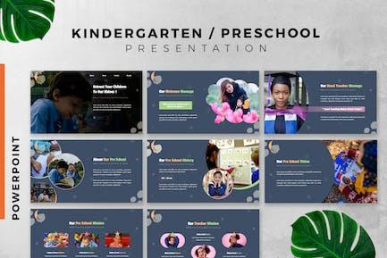 Kindergarten / Preschool Powerpoint slide