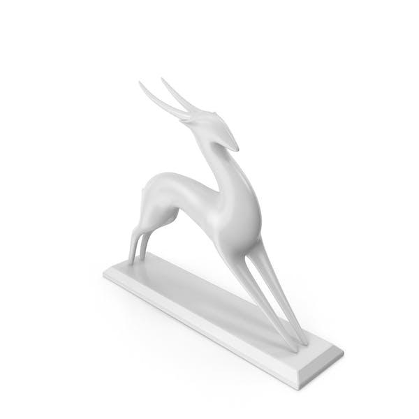Thumbnail for Скульптура антилопы