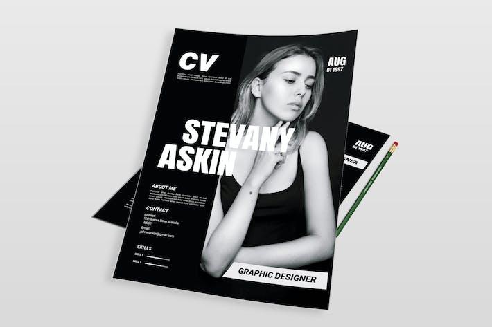 Thumbnail for Askin | CV & Resume