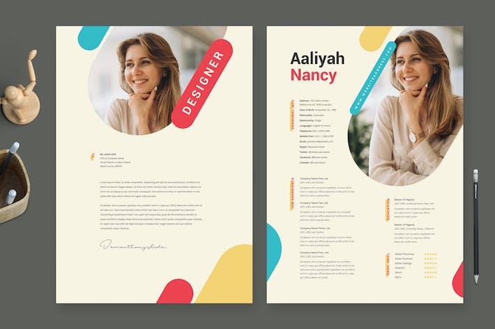 Creative Resume Template / CV Template 40