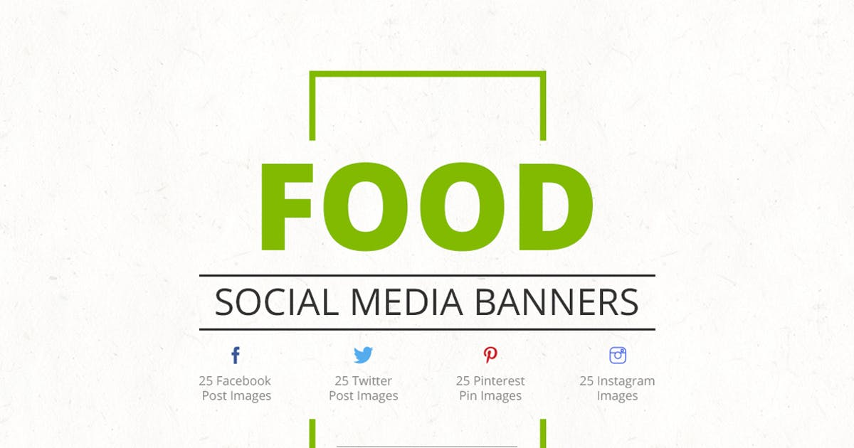 Food Social Media Banners by Unknow