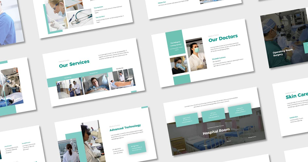 Download Syifana Healthcare Presentation Template - (KEY) by deemakdaksinas