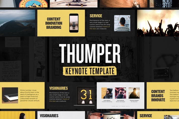 Thumbnail for Thumper — Keynote Presentation Template