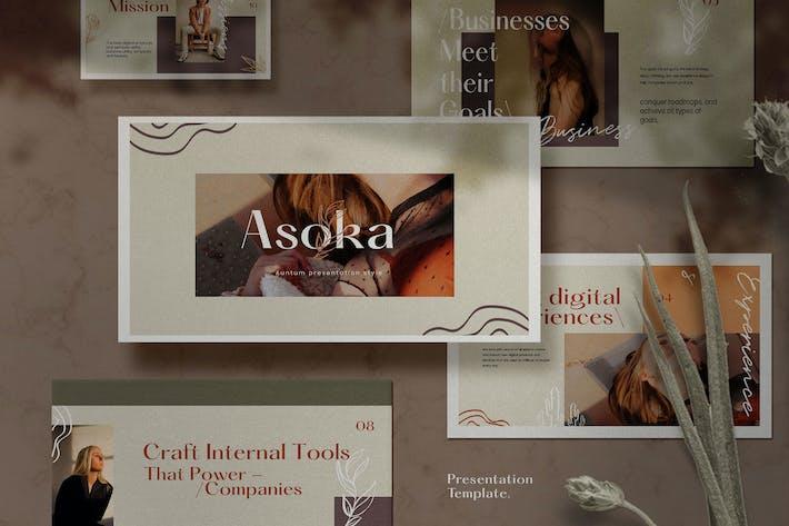 Thumbnail for Asoka - Multipurpose Creative Business Powerpoint