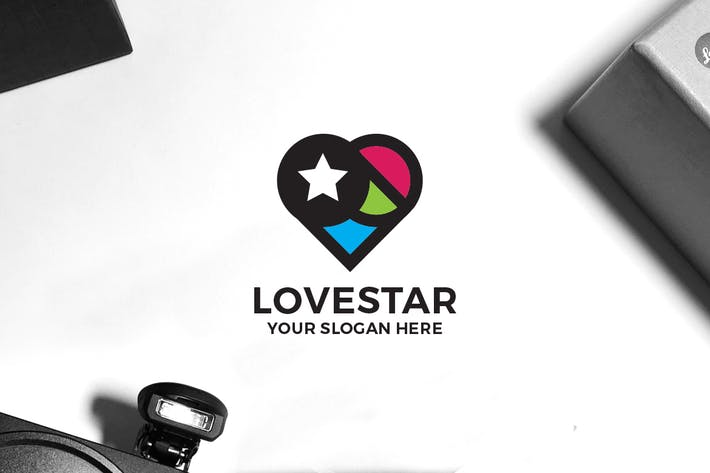 Cover Image For Love Star Logo