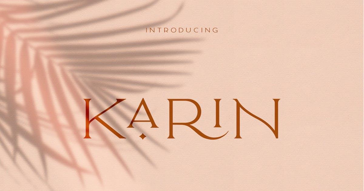 Download Elegant Karin - Fashion Stylish Typeface by NEWFLIX