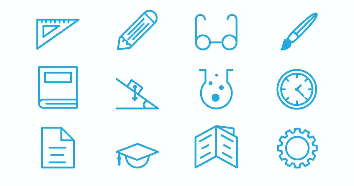 Download Education vector Icons by 3ab2ou