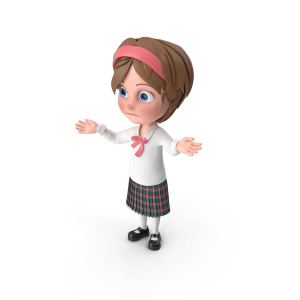 Thumbnail for Cartoon Girl Lost