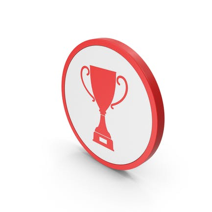 Icon Trophy  Cup Red