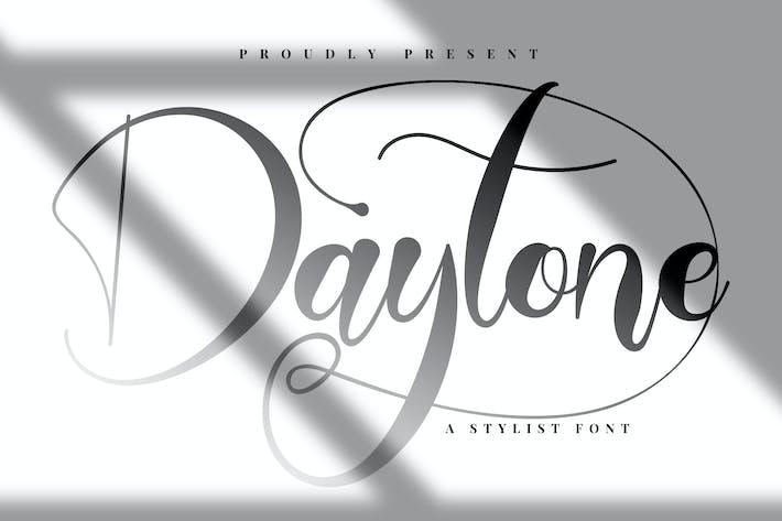 Thumbnail for Daytone | Stylist Script Font