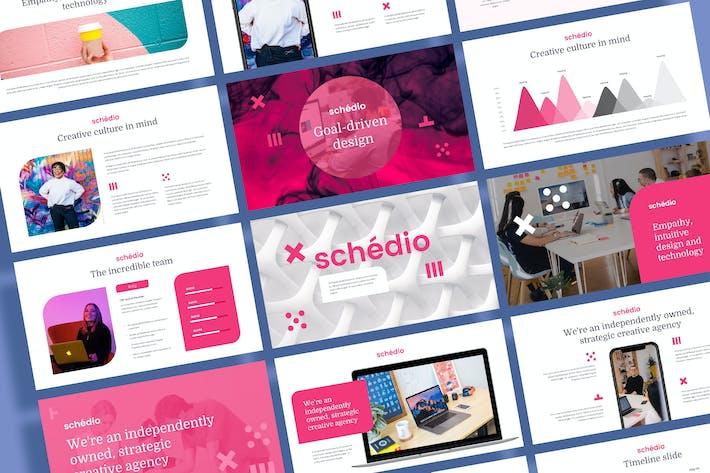 Thumbnail for SCHEDIO - Multipurpose Business Google Slides