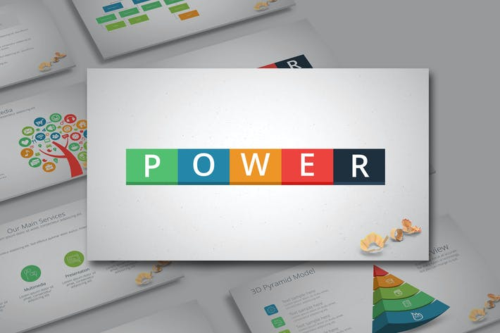 Thumbnail for POWER Powerpoint Template
