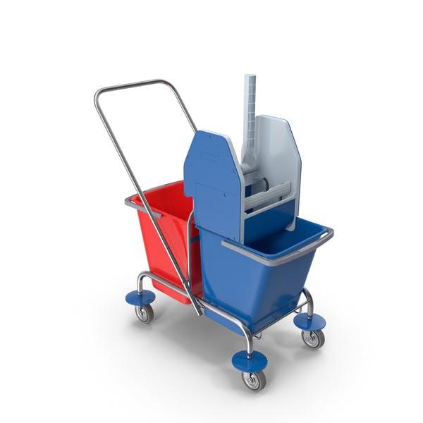 Rollwagen für Bodenreinigung