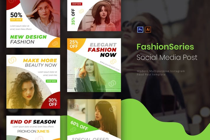 Thumbnail for Fashion Series | Socmed Post