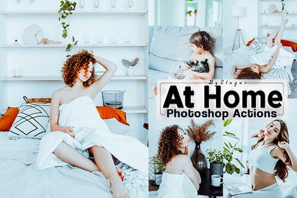 At Home Bright Photoshop Actions